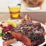Rib-Eye Steak au Poivre - When making steak au poivre, Maria ...