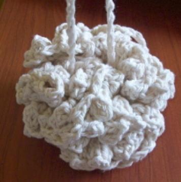 Free Crochet Pattern For Bath Pouf : Crochet~ Popcorn Bath Puff- Free Pattern crochet Pinterest