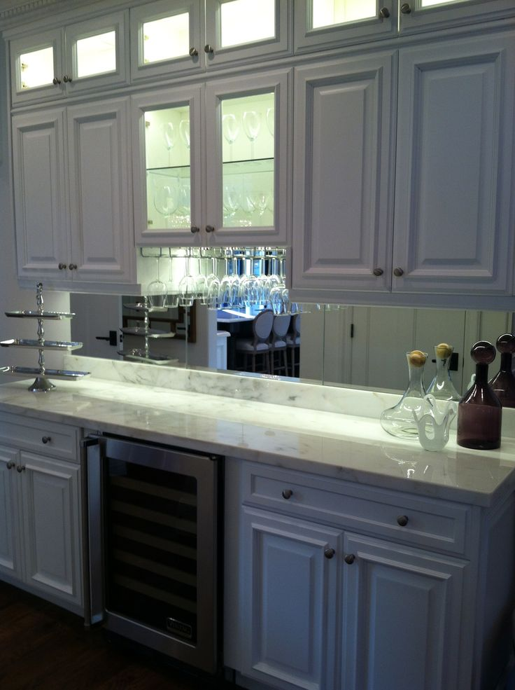 mirrored backsplash decor ideas pinterest