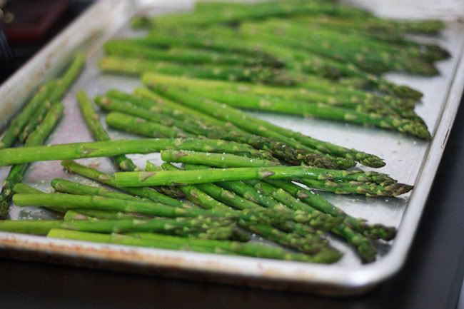 simple roasted asparagus | Food To Try | Pinterest