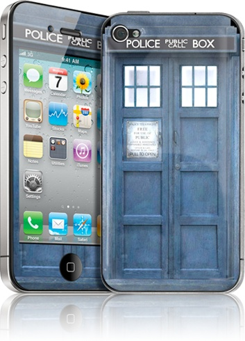 Dr. Who phone cover!