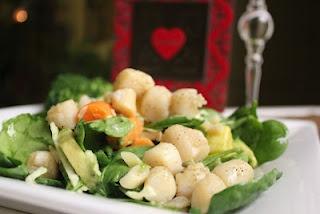 citrus scallop summer salad recipes dishmaps citrus scallop summer ...