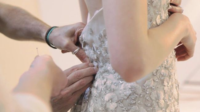 Liancarlo Bridal 2014 Bodice Fitting at cpbride.com/blog