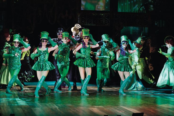 Stage curtain drawing - Emerald City Wicked Costumes Pinterest