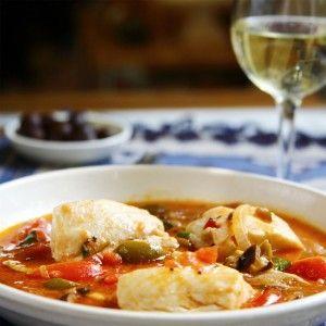 Sicilian Cod Stew | Food ~ Gluten Free | Pinterest