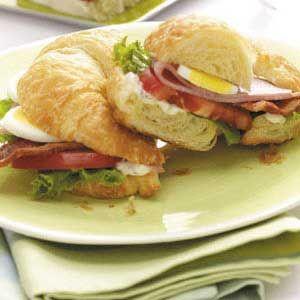 Cobb Salad Sandwich on Croissant... | Cobb Salad... | Pinterest