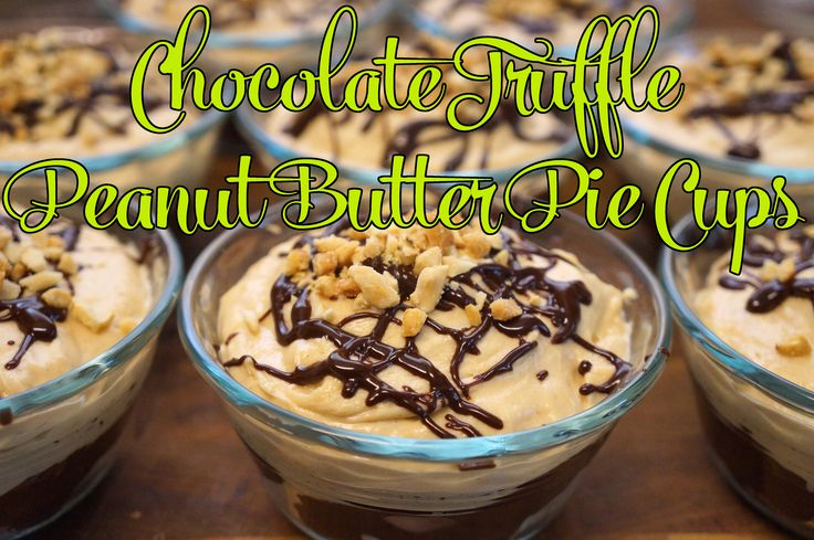 Chocolate-Peanut Butter Truffle Pie Recipes — Dishmaps
