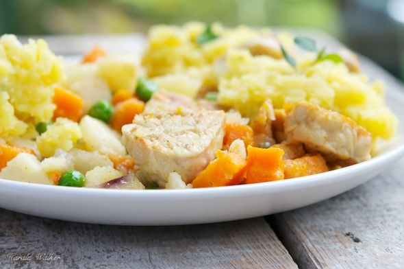 Tempeh Stew with Garlic Mashed Potatoes | Main meals | Pinterest