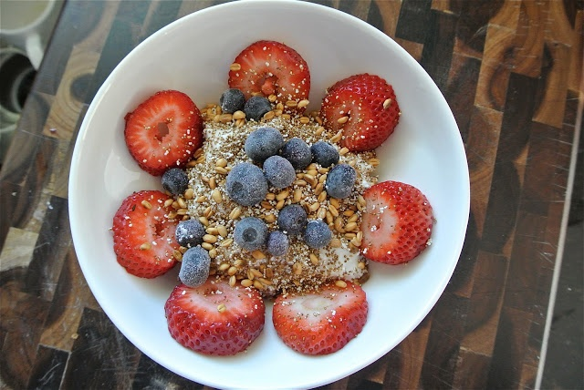 Popped Amaranth and Toasted Wheat Berry Breakfast Sundae//The Candid ...