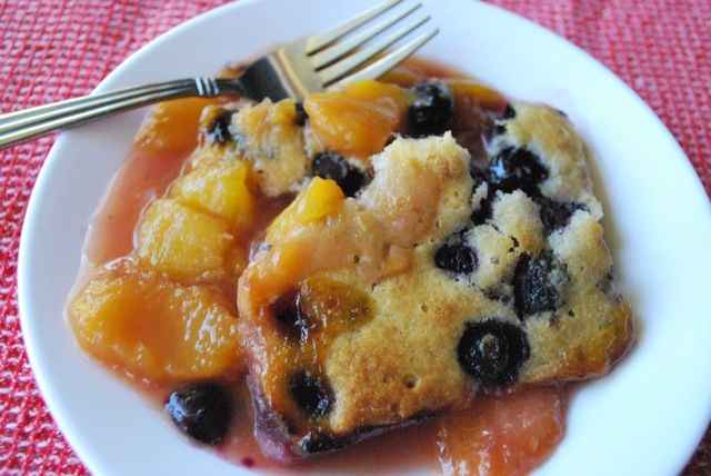 Seasonal Potluck: Blueberry-Peach Cobbler | BetsyLife
