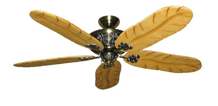 Tropical ceiling fan | Ceiling Fans & Unique Lighting | Pinterest