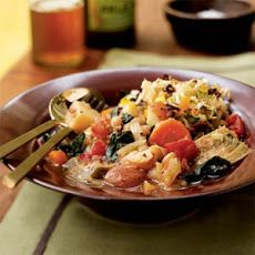 White Bean, Artichoke, and Chard Ragout with Fennel Relish - Yummly ...