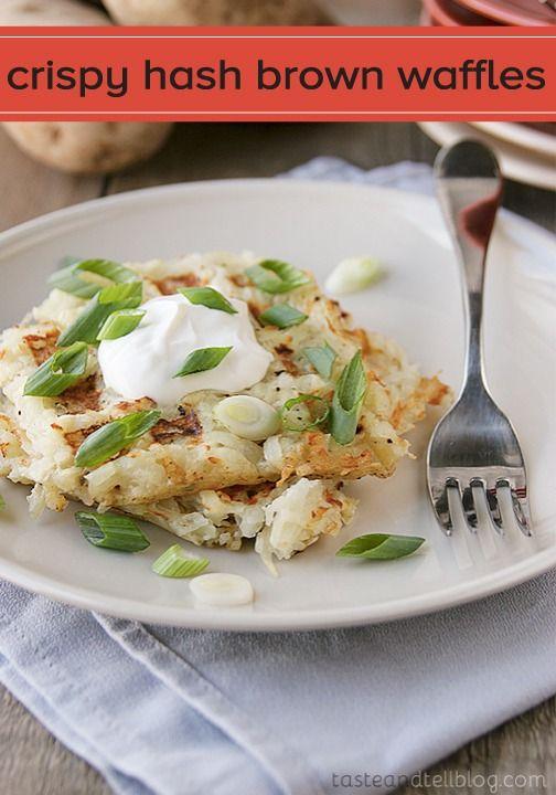 Crispy Hash Brown Waffles | Recipe