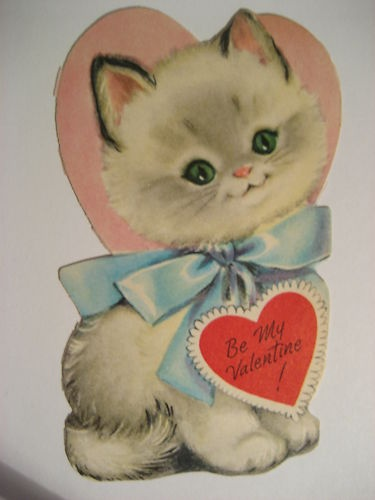 cat valentines day card tumblr