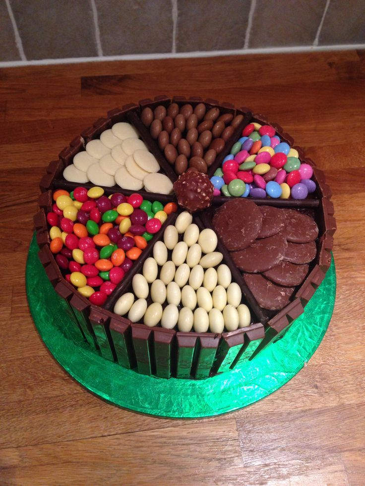 Decorating Cake With Kitkat : KitKat cake! Cakes Pinterest