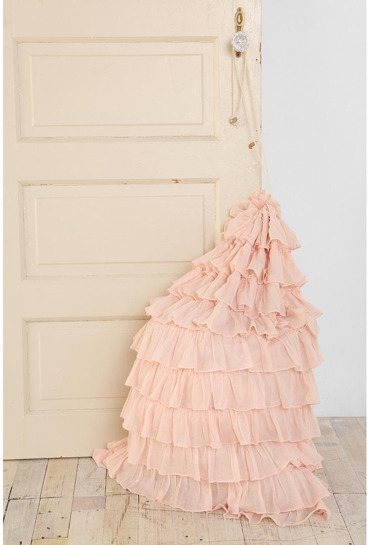 Ruffle Laundry Bag from Urban Outfitters, $36 - even your dirties ...