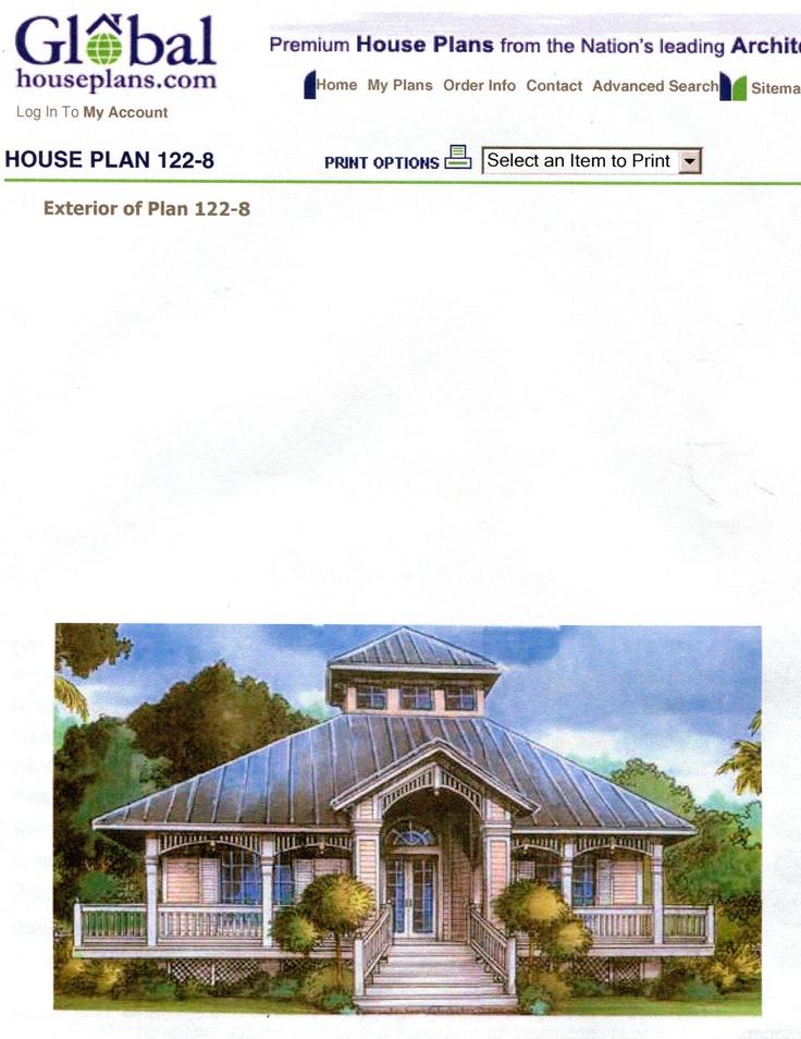 global house plan:
