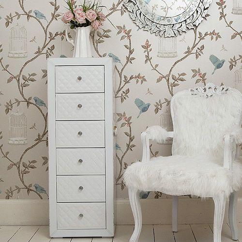 Tall Skinny Dresser White Chair House Pretty Pinterest