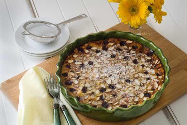 Gluten Free Cherry Almond Clafoutis Recipe