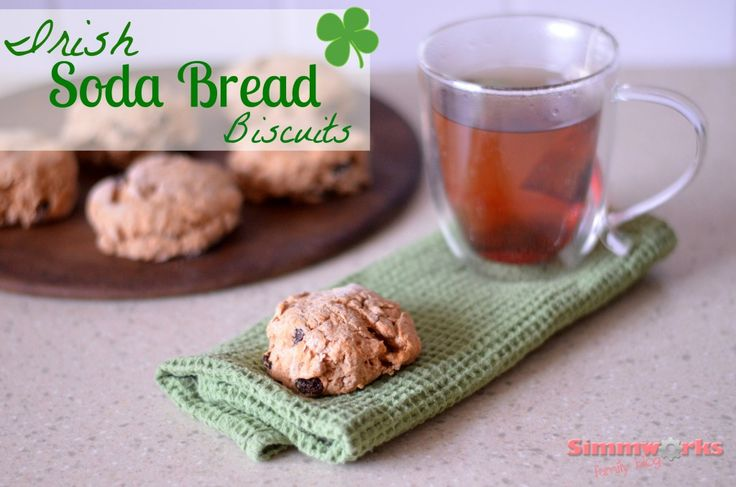 Irish Soda Bread Biscuits Recipe | Holiday Ideas | Pinterest