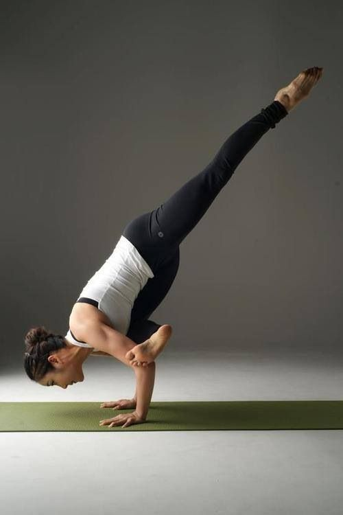 Flying pigeon pose. | Yoga | Pinterest