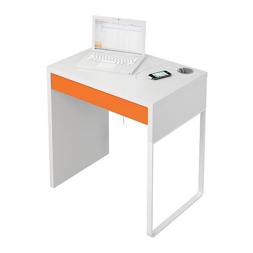 MICKE Desk White Green