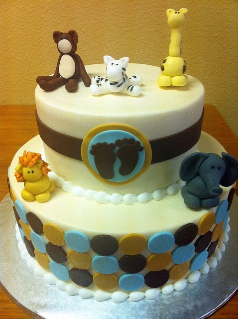 ... baby-shower-cake by dpasteles cake shop (San Antonio, TX), via Flickr