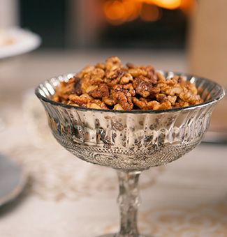 Spiced Candied Walnuts | Eats: Nutty About Nuts and Seeds | Pinterest