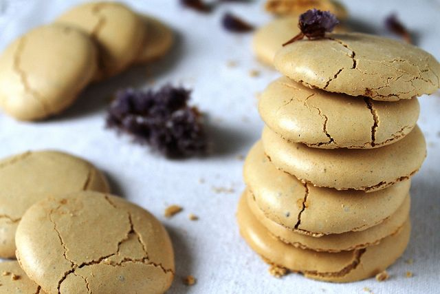 ... coffee meringues would turn out with vanilla coffee or pumpkin