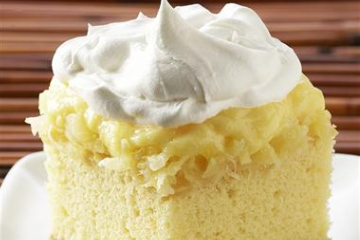 Yellow Cake Mix And Crushed Pineapple