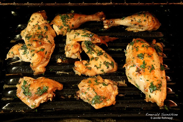 Honey-Mint Glazed Baked Chicken | food & Recipes | Pinterest