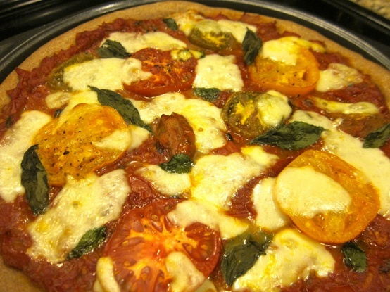 Healthy and Delicious Pizza | Yum-O's! | Pinterest