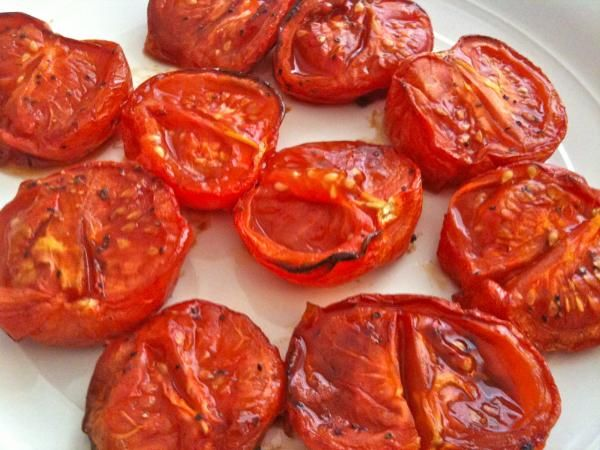 ... run with ripe tomatoes!! Instead of canned tomatoes, roast your own