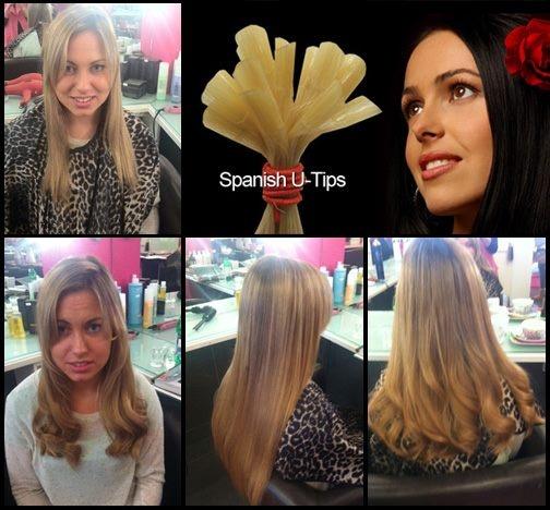 Hairspray Pre Bonded Extensions 81