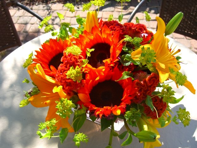 Sunflower arrangements bing images centerpices pinterest