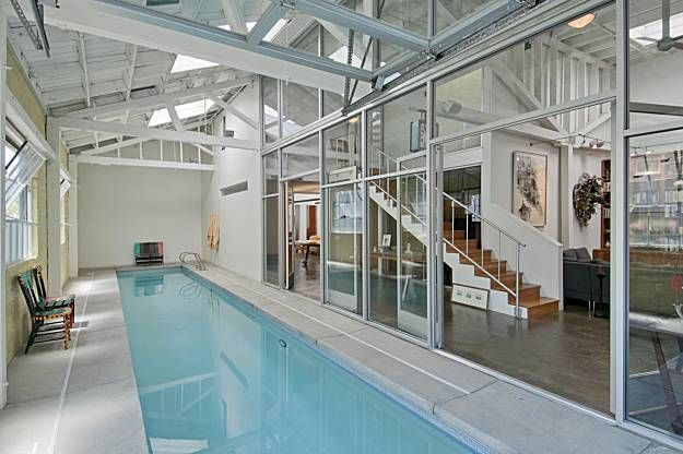 Private indoor lap pool house pinterest for Private indoor swimming pools