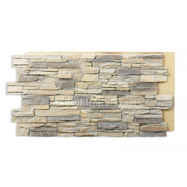 faux stone panels kitchen backsplash home dreams