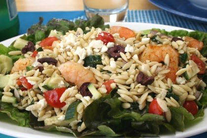 The Simple Skillet | Orzo Shrimp Salad | SALADS AND DRESSINGS | Pinte ...