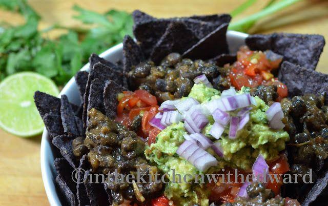 Black Bean Nachos | A Savory VEGAN Board | Pinterest