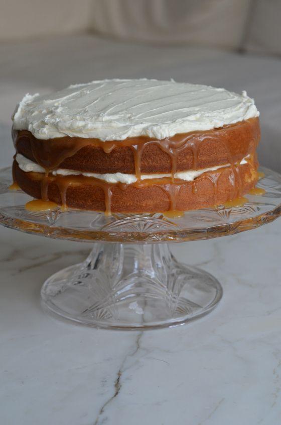 Vanilla Bean & Salted Caramel Cake | Dessert | Pinterest