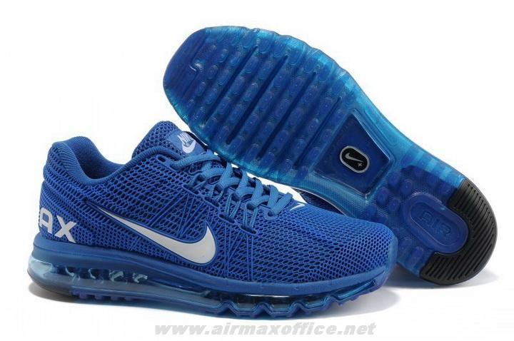 Blue White Mens Shoes Nike Air Max 2013 KPU For Sale