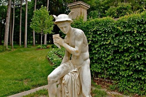 Hermes guards the garden