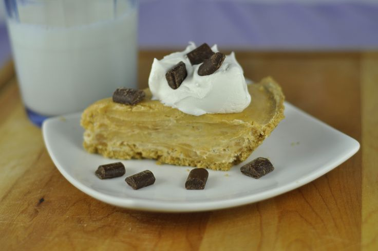 Creamy Peanut Butter Pie | Wishes and Dishes