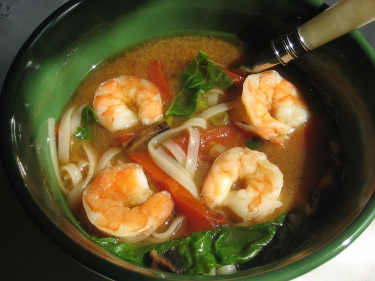 10-Minute Veggie, Shrimp & Miso Soup | Tasty Kitchen: A Happy Recipe ...