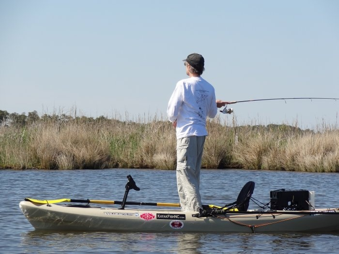 kayak fishing outer banks nc obx fishing pinterest