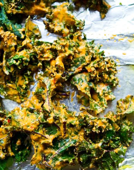 vegan-kale-chips-recipe | FOOD! | Pinterest