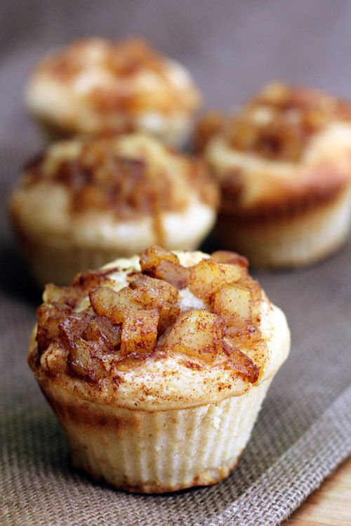 Apple cinnamon muffins /////the cake was a little too dry and the ...