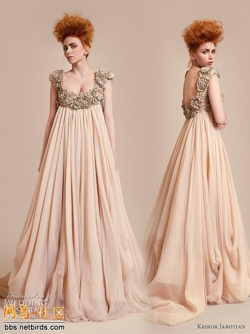 Baby Doll Flower Blush Wedding Dress Dresses Pinterest