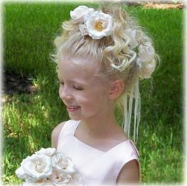 wet curly hairstyles : Wedding flower hairstyles for kids - how to winterize your curls ...