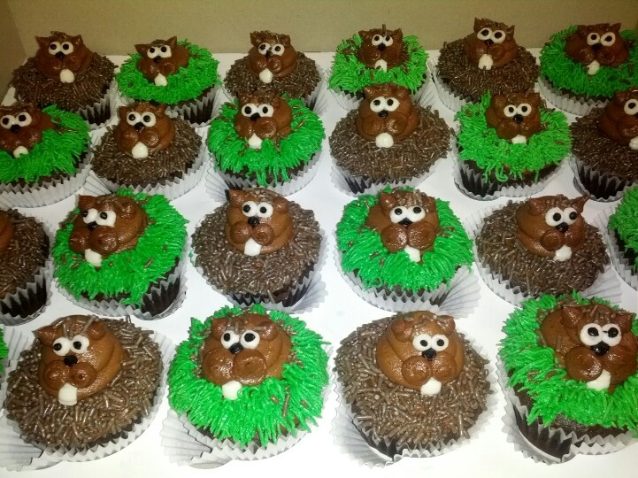 Pin Groundhogs Day Cupcakes Cake Theater Cake on Pinterest